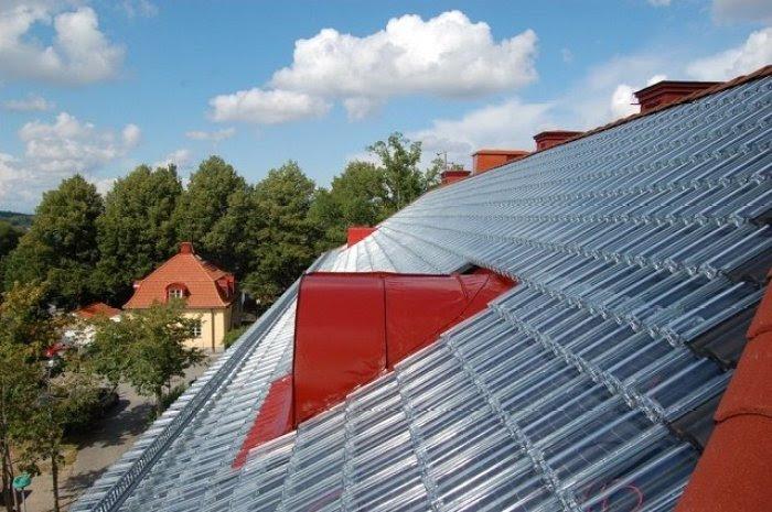 Tejas solares de vidrio 2
