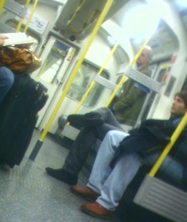 Who is this Mystery Celebrity on the Tube