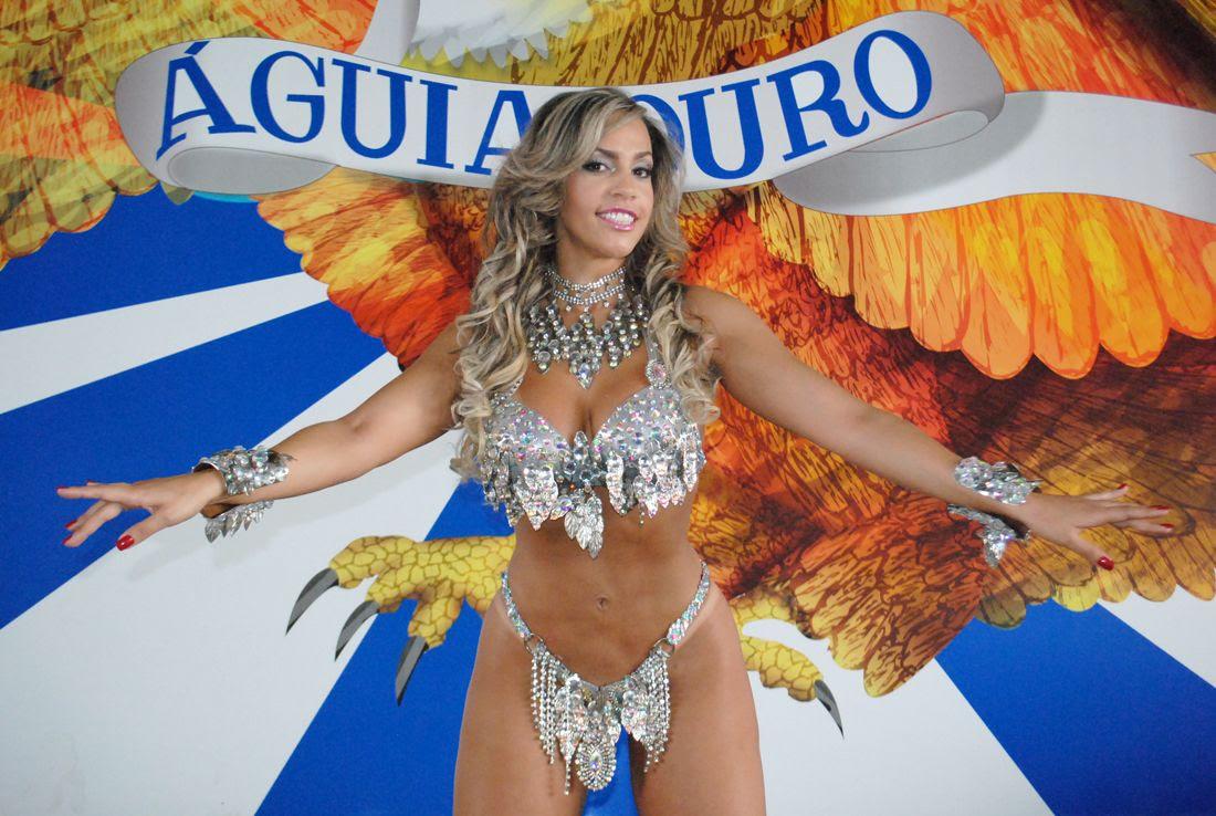 Ana Paula Ferrari promete chamar a atenção no desfile da Águia de Ouro / Eduardo Graboski/Divulgação