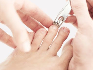 secret signs of fitness clipping toe nails