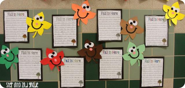 Fallin Into Fall Fun Step Into 2nd Grade
