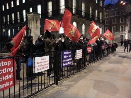 Feb 04 Protest in London