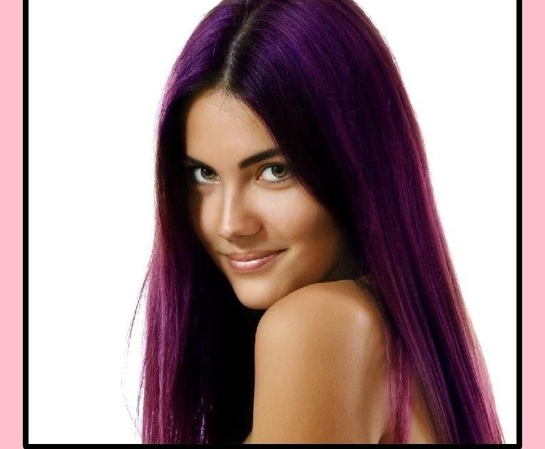 Rot Und Pink Mischen Haarfarbe - Blau, lila, grün oder