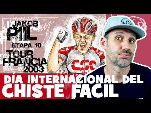 TDF2003. 'EL DÍA INTERNACIONAL DEL CHISTE FÁCIL'. Tour de Francia 2003. Etapa 10 - Alfonso Blanco