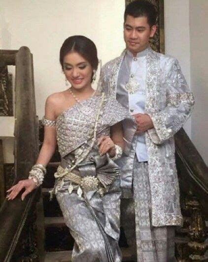 Silver love it.. Khmer wedding   Khmer Traditional wedding
