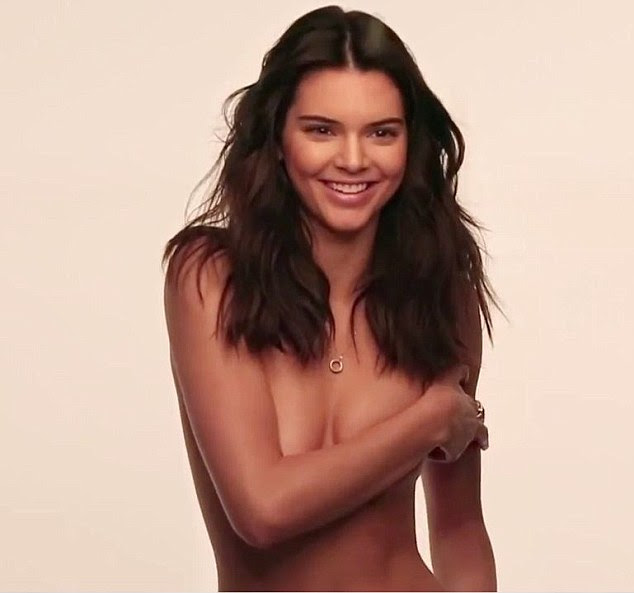 Flawless beauty: In a new behind-the-scenes footage for the GQ photoshoot, Kendall Jenner candidly discusses her love for selfies and her obsession with Instagram