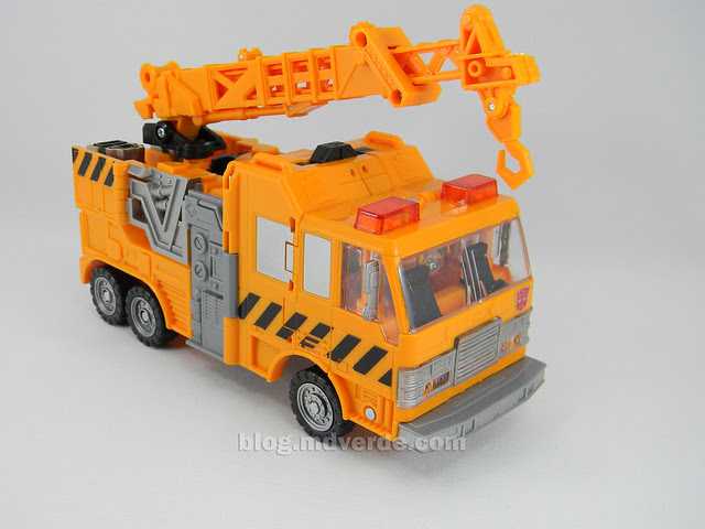 Transformers Grapple United Voyager - modo alterno