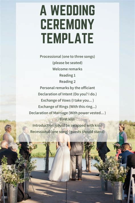Wedding Officiant Ceremony Script