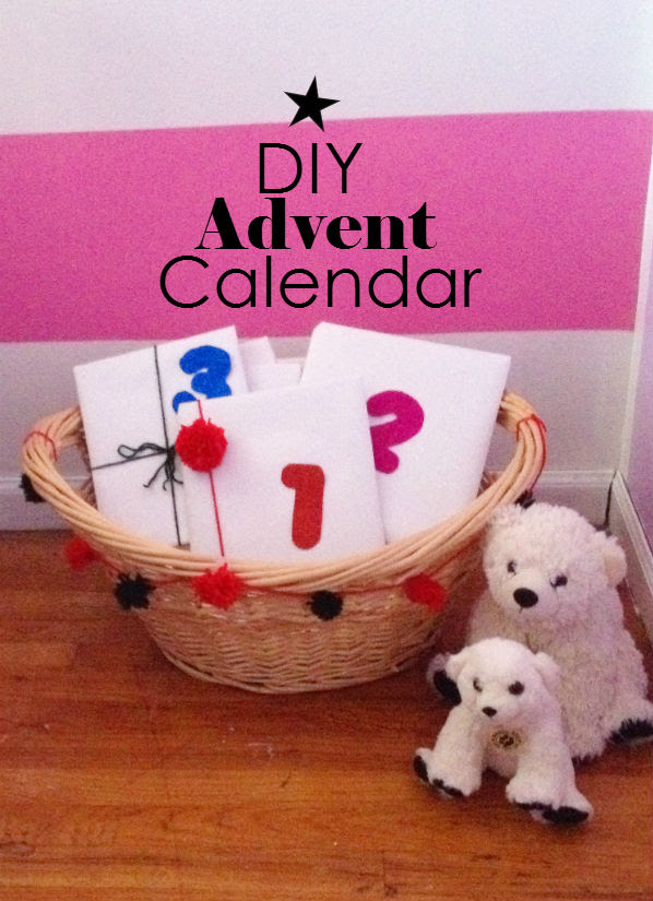 DIY Book advent calendar