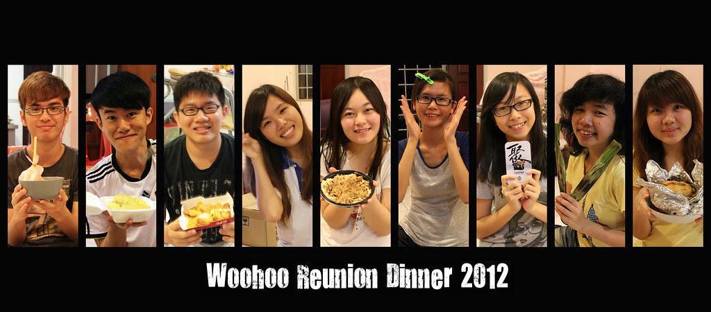 Woohoo Reunion Dinner 2012