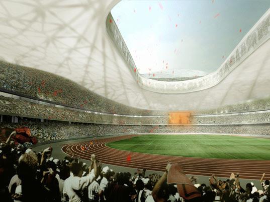 Beijing Olympic Stadium, Beijing Olympics 2008, Birds Nest building, Herzog DeMeuron, Olympic Stadium Interior