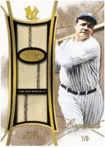 2014 Topps Tier 1 Babe Ruth