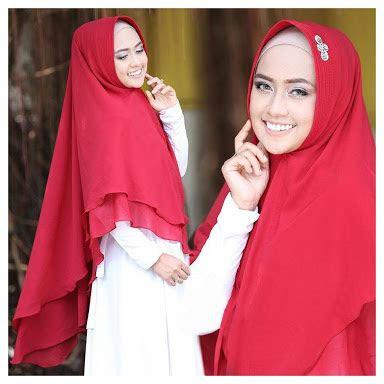 model hijab terbaru  jilbab syari khmar ellya