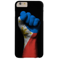 Raised Clenched Fist with Filipino Flag Barely There iPhone 6 Plus Case