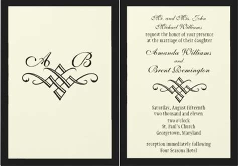 Traditional Wedding Invitation Wording ? How To Write