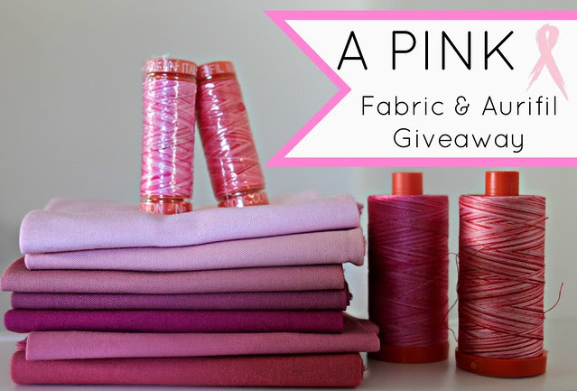 A Pink Giveaway!