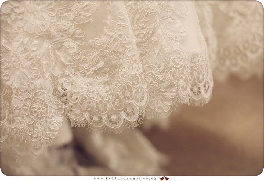 Lacey Vintage Dress - Hadleigh Wedding Photography Suffolk- Hello Romance