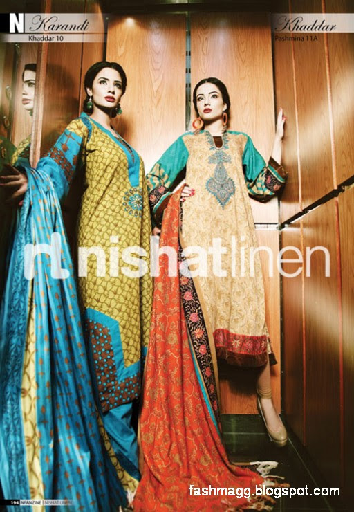 Nishat-Linen-Winter-Dresses-Collection-2013-Nishat-Linen-Fancy-Frocks-Shalwar-Kamiz-4