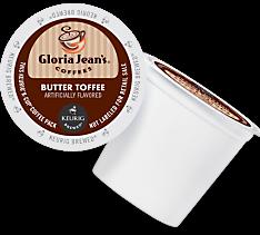 Butter Toffee Keurig Kcup coffee