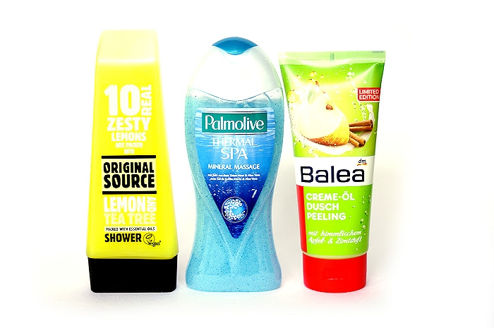 2013 top cosmetic hits original source palmolive thermal spa balea peeling