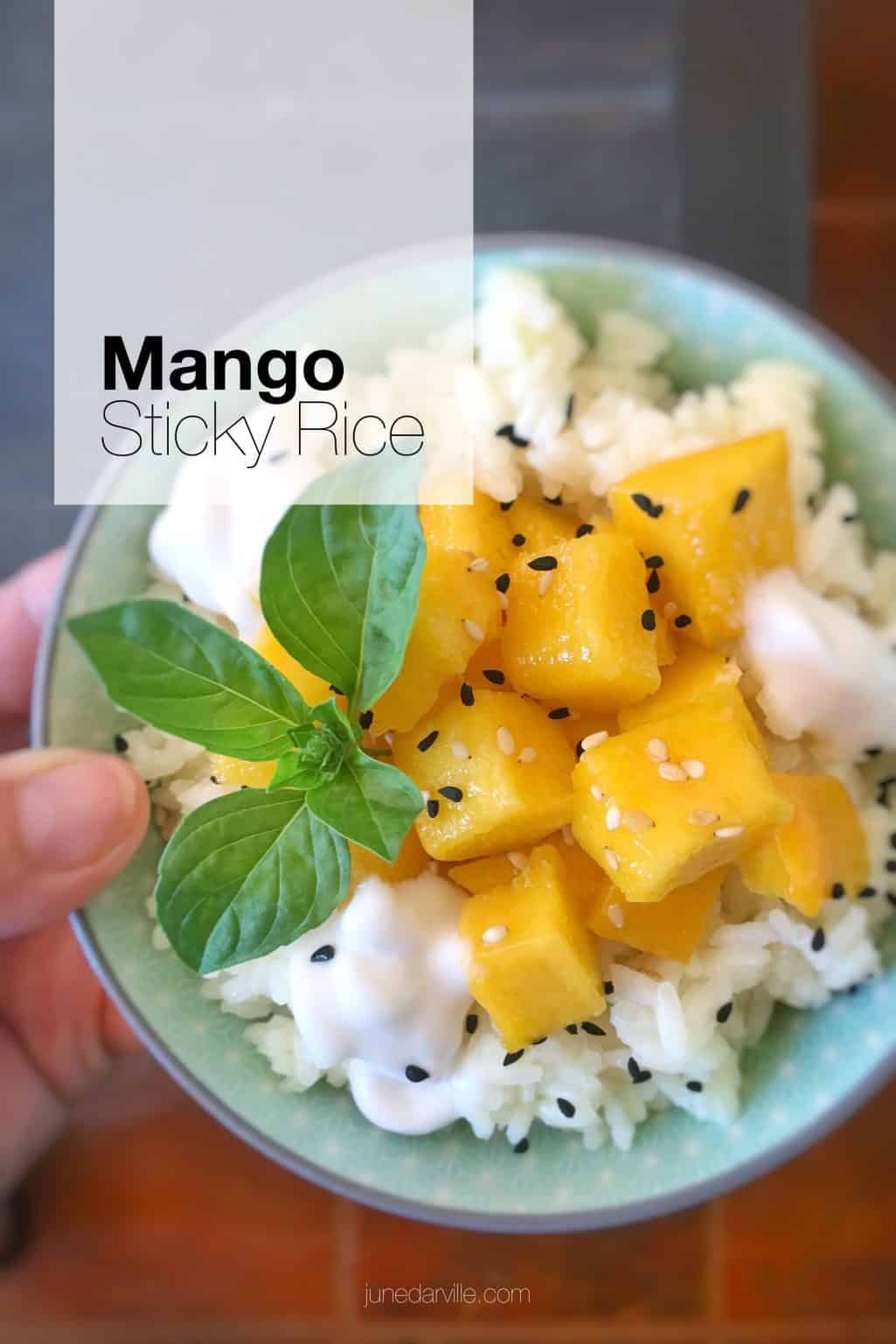 Mango Sticky Rice Thai Recipe | Simple. Tasty. Good.