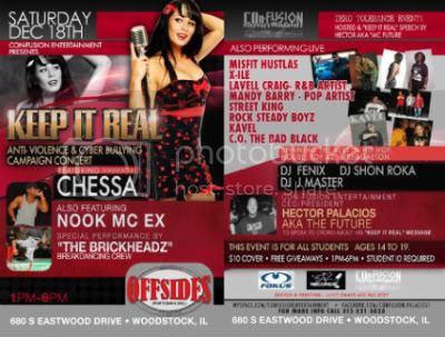 Brickheadz,Shon Roka,DJ Shon Roka,Chessa,Chicago Hip Hop,DJ J-Master,DJ Fenix,X-ile,Confusion Entertainment,Offsides Bar & Grill,Breakdance,B-boy,Chicago,Woodstock,IL,Coast2CoastMixtapeDJs,Bassment Boyz