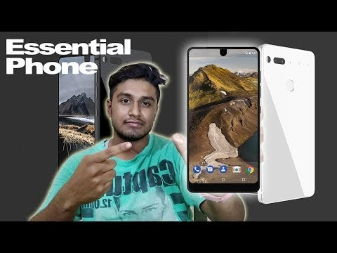 Essential Bezel-less Phone..Essential PH-1..My Opinion | Andy Rubin Essential Phone