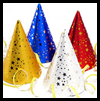 How<br />  to Make Quick Birthday Party Hats  : Birthday Arts & Crafts Ideas