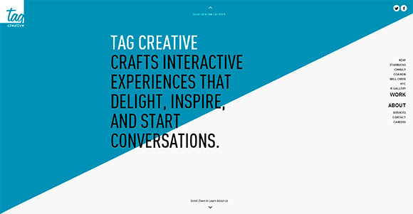 tagcreativestudio.com : thegreatbeardedreef.com : witcreative.info : carlosousa.net : everylastdrop.co.uk : todaythe12.com : Single Page Website Designs