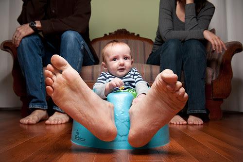 He Has Daddy's Feet por LShadrack
