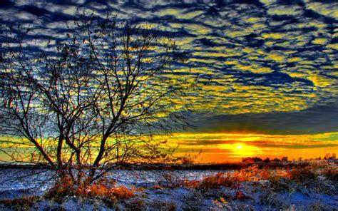 hd early morning sunrise wallpaper