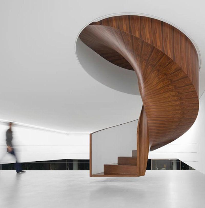 Escadas incrivelmente projetadas que estão um degrau acima das demais 31