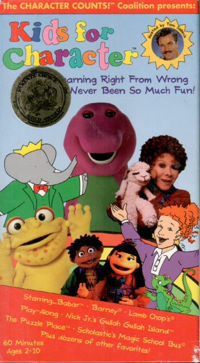Kids For Character VHS