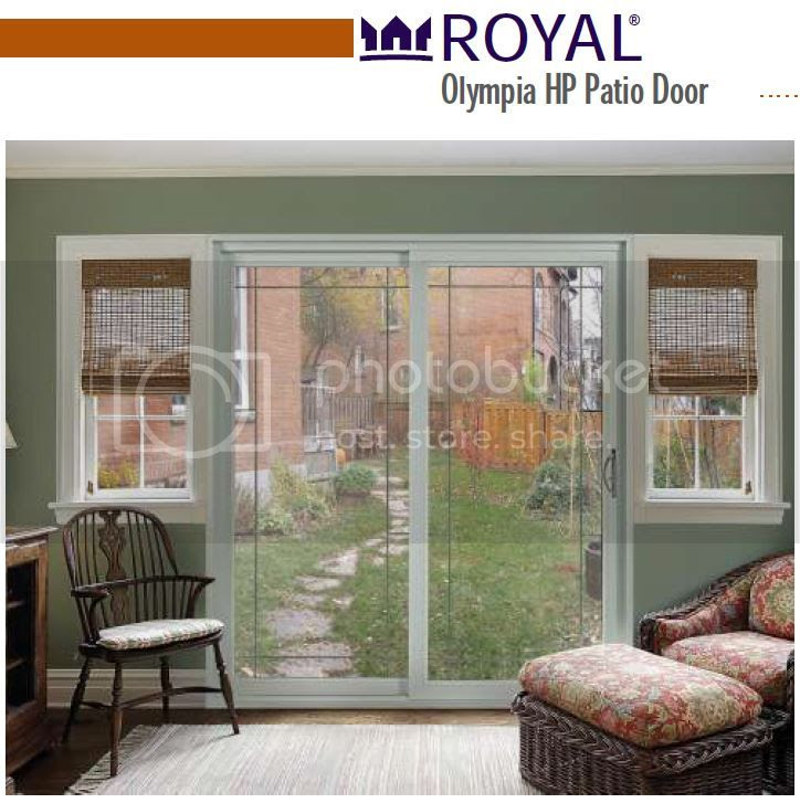 Royal Vinyl Patio Door