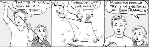 Home Spun comic strip #107