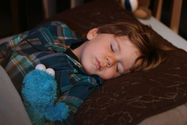 oliver sleeping