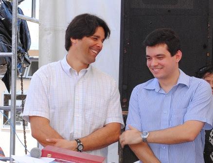 Felipe Maia e Walter Alves
