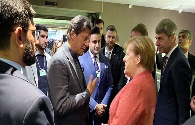 Angela Merkel invites PM Imran to visit Germany