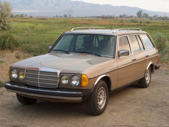 1983 Mercedes-Benz 300TD Turbo Diesel Wagon - Classic ...