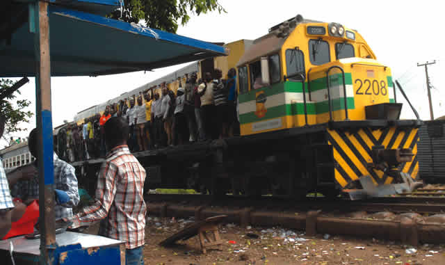 Image result for Trouble on the move: Gangs control coaches on Lagos trains, feed fat on illegal fares