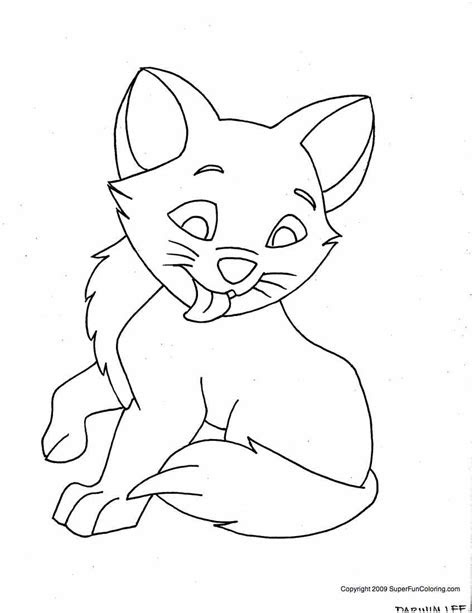 male kitten coloring pages  boys kids coloring pages