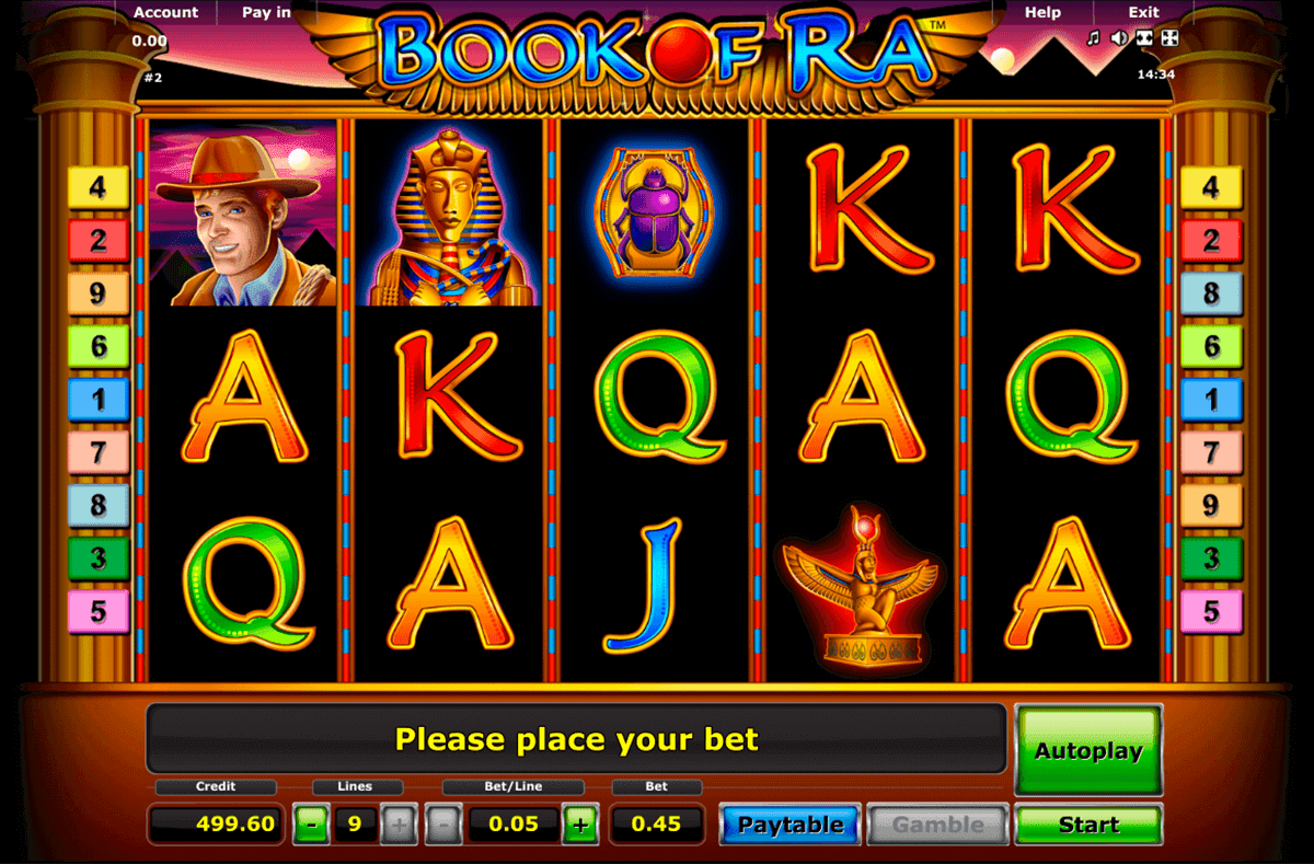 Yakima book of ra magic novomatic slot game arcade