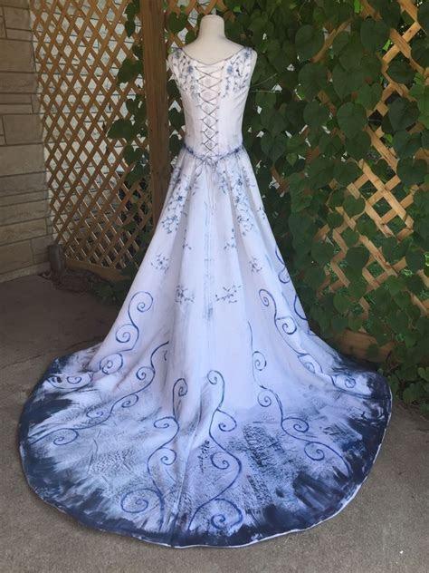 The Corpse Bride Tim Burton Wedding Dress Gown Halloween