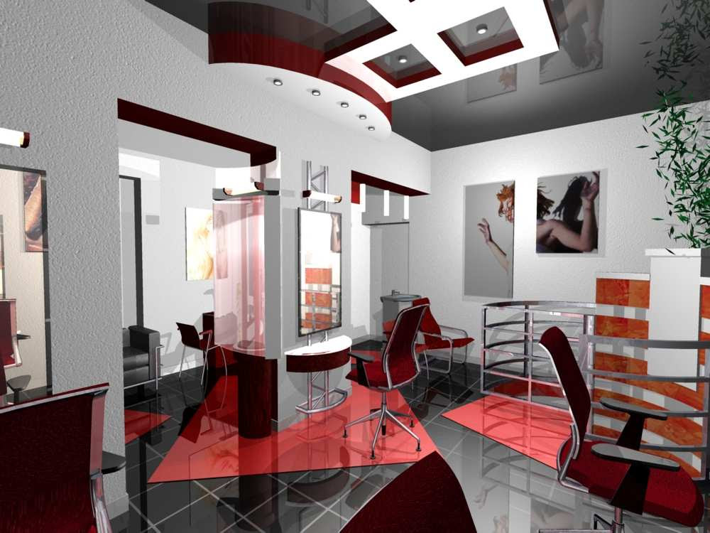 Vitaliy shevchuk kiev ukraine beauty salon s interior design ...