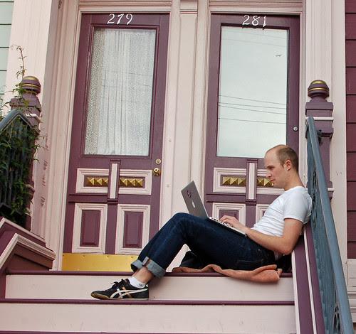 sitting on the stoop.jpg
