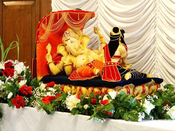 Ganesh Chaturthi  Decorations  Ganesha  Chaturthi Pandal