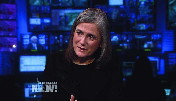 EE.UU: Ordenan detención contra la periodista de Democracy Now que cubrió protestas contra el oleoducto Dakota Access.
