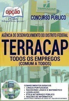 Apostila Concurso TERRACAP 2017 comum a TODOS OS EMPREGOS TERRACAP-DF.