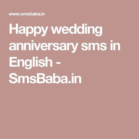 Best 25  Marriage Anniversary Sms ideas on Pinterest   45