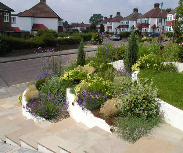 Small Front Garden In Orpington | Millhouse Landscapes